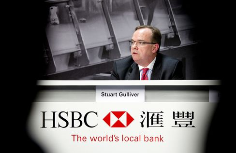 HSBC Holdings Plc CEO Gulliver