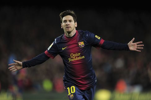 Lionel Messi Renews His Barcelona Contract Through 2018