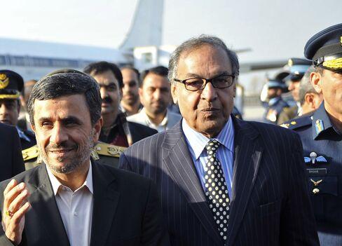 Pakistani Prime Ministerial Candidate Makhdoom Shahabuddin