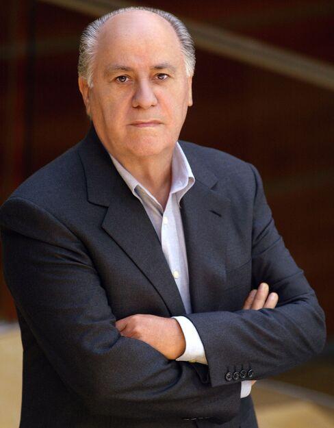 Inditex SA. Chairman Amancio Ortega
