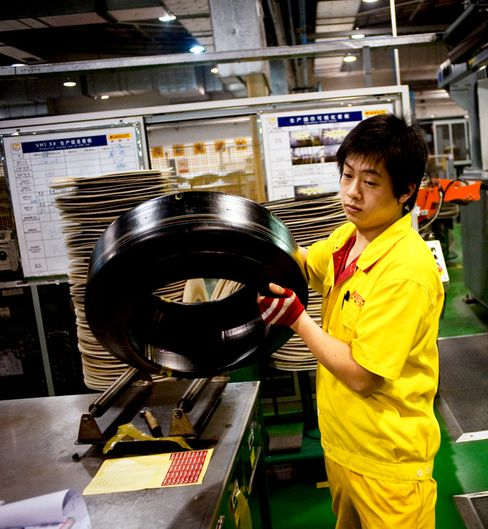 Chinese Inflation, Wage Rates Will Curb Competition