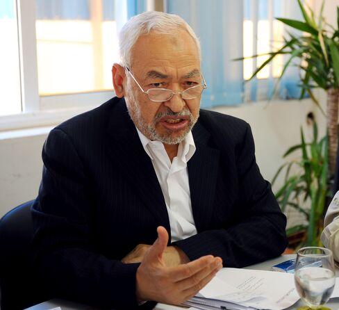 Ennahda's Co-founder and Leader Rashid Ghannouchi
