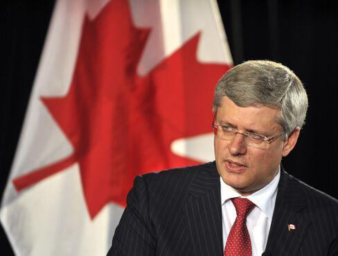 Candian Prime Minister Stephen Harper