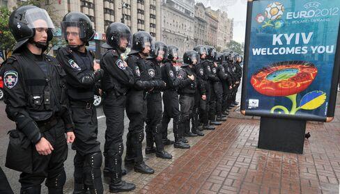 Ukraine's Party Wrecked as Soccer Highlights Orange Revolt Flop