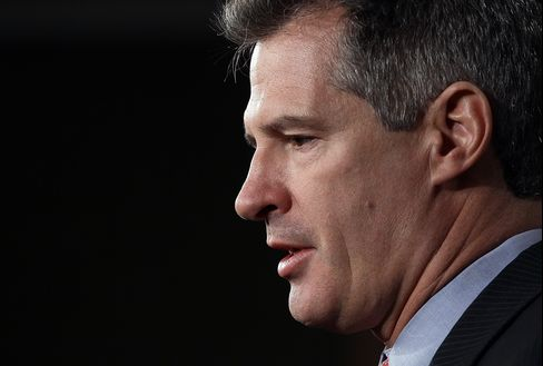 Brown 'Pig' Remark Vies With Kennedy Dig in Senate Debate