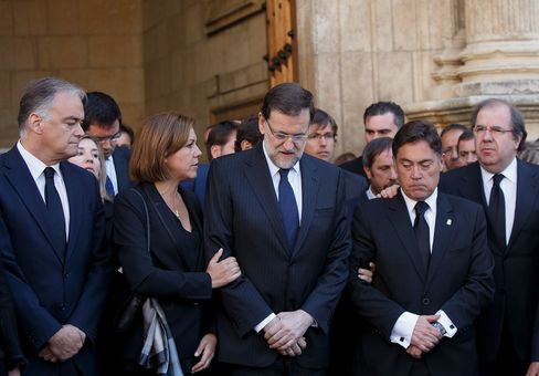 EU Campaign Halted as Spain Mourns Murdered Politician