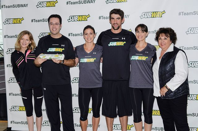 Can Subway digitally erase Michael Phelps from this photo?Photographer: Matthew Eisman/WireImage via Getty Images