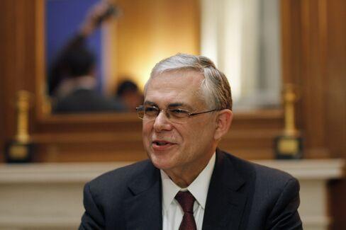 Greece's Prime MinisterLucas Papademos