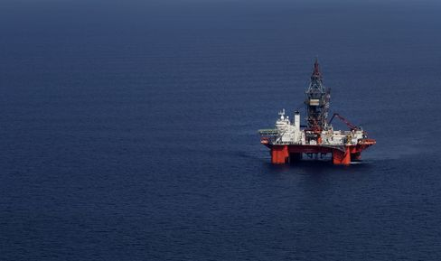 Pemex Crude Oil Platform