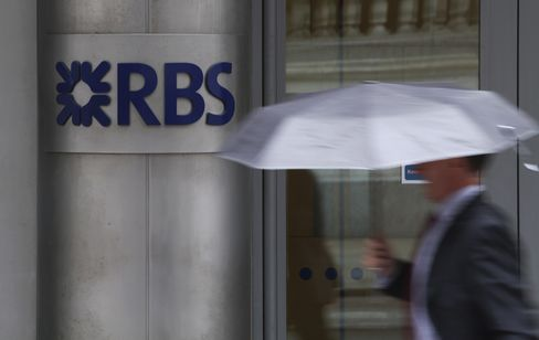 RBS Has Credit Outlook Changed to Negative by Standard & Poor's
