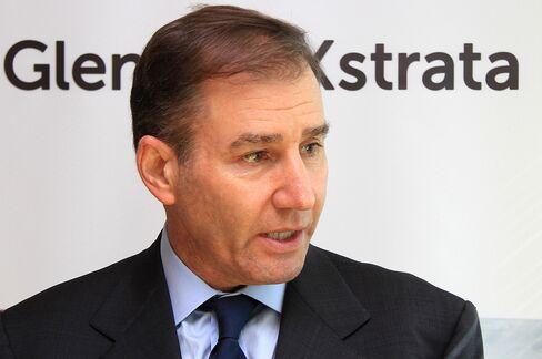 Glencore Xstrata Plc Chief Executive Officer Ivan Glasenberg