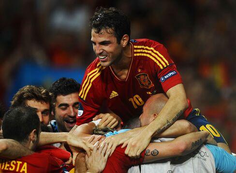 Spain Midfielder Cesc Fabregas