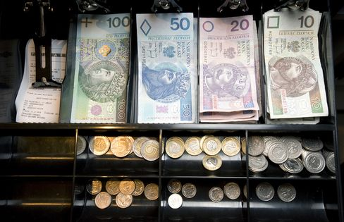 Polish Central Bank Said to Sell Euros in Currency Market