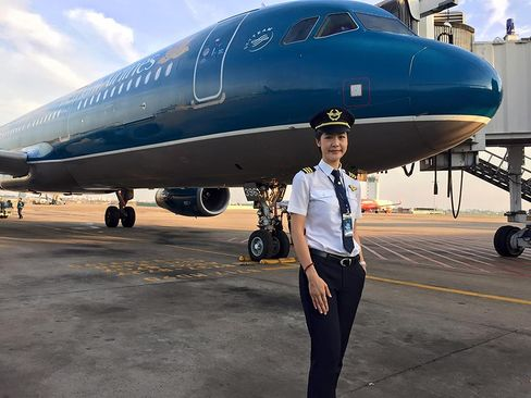 Vietnam Airlines Captain Huynh Ly Dong Phuong