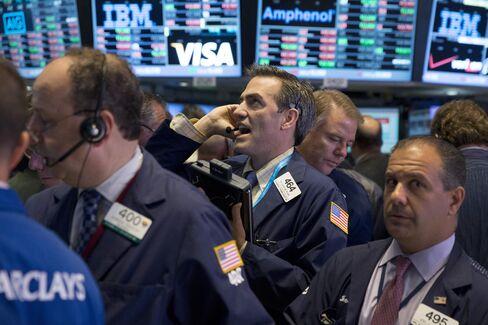 U.S. Stocks Sink