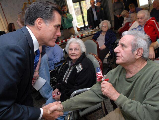Thanks, Mitt Romney!Photographer: Neal Hamberg/Bloomberg