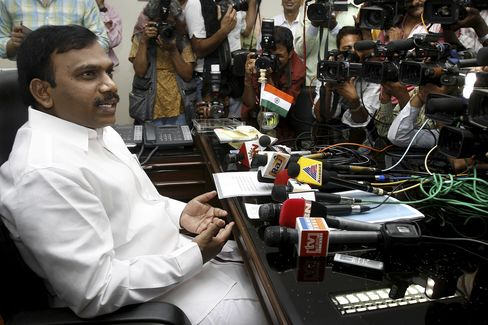 Former Telecom Minister Andimuthu Raja