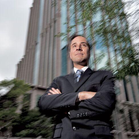 Alexandre Caiado, a former private banker for Merrill Lynch