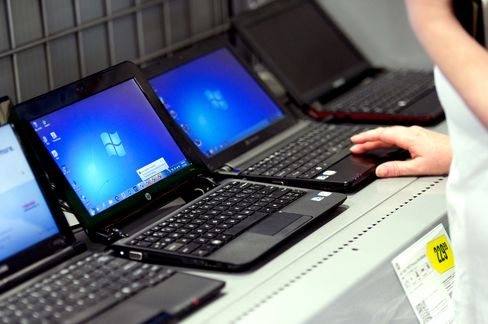 Microsoft Says PC Sales May Have Missed Fourth-Quarter