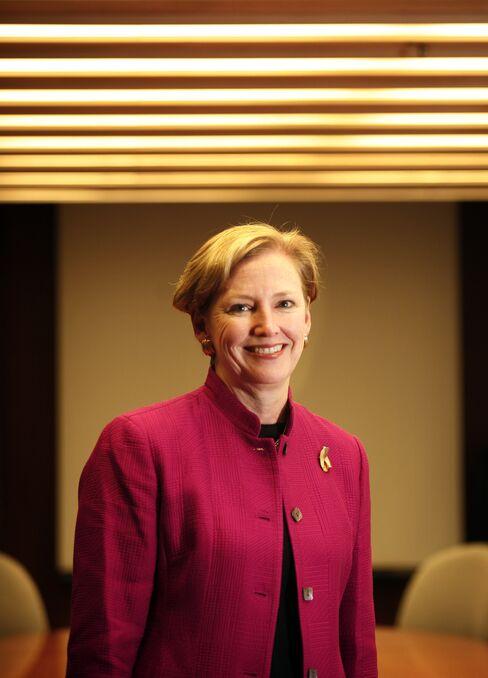 Ellen Kullman, chief executive officer of DuPont Co