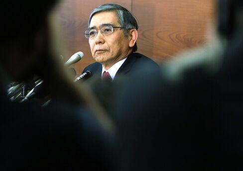 New BOJ Governor Haruhiko Kuroda