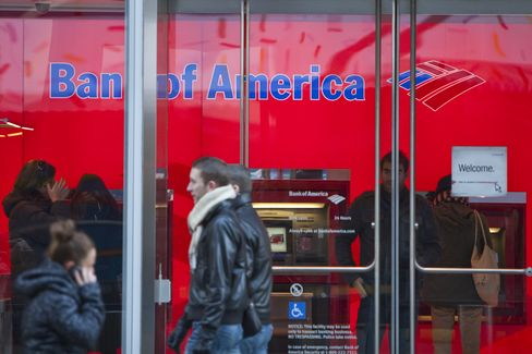 Bank Stocks Rise After Bank of America Settles