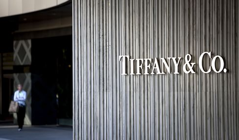 Tiffany Falls After Cutting Forecast on Weaker Holiday Sales