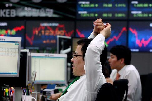 Pension Funds Ignoring Kim Buy Cheapest Korea Stocks Since 2007