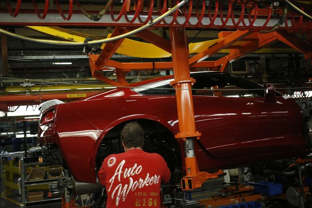 Detroit-style auto unions won't be coming to Chattanooga any time soon. Photographer: Luke Sharrett/Bloomberg