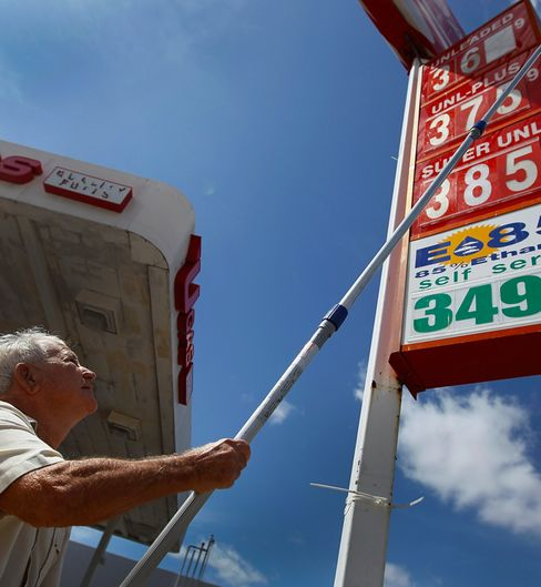 Obama Faces Swing State Voter Anger Over Rising Gasoline