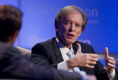 Bill Gross, co-chief investment officer of Pacific Investment Management Co. (PIMCO). Photographer: Andrew Harrer/Bloomberg