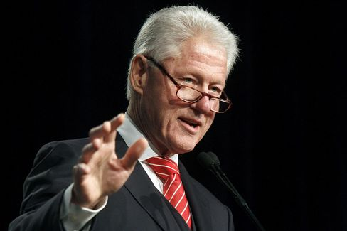 Bill Clinton Says BofA Deal May Lead to Principal Reductions