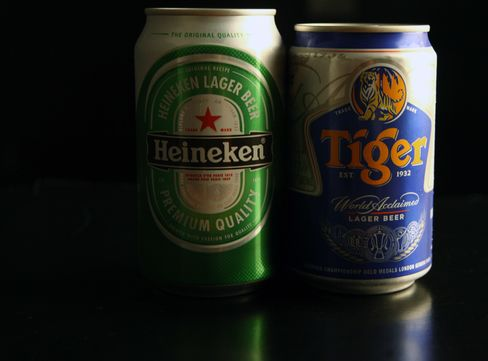 Heineken Lack of Asia Options Seen Forcing Higher Bid