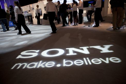 Sony Widens Annual Loss Forecast on Strong Yen, Thai Floods