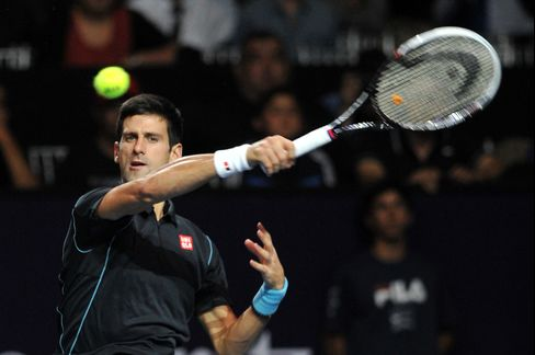 Tennis Singles Champion Novak Djokovic