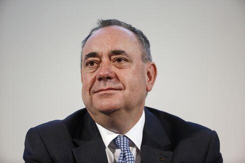 Scotland's Nationalist Leader Alex Salmond
