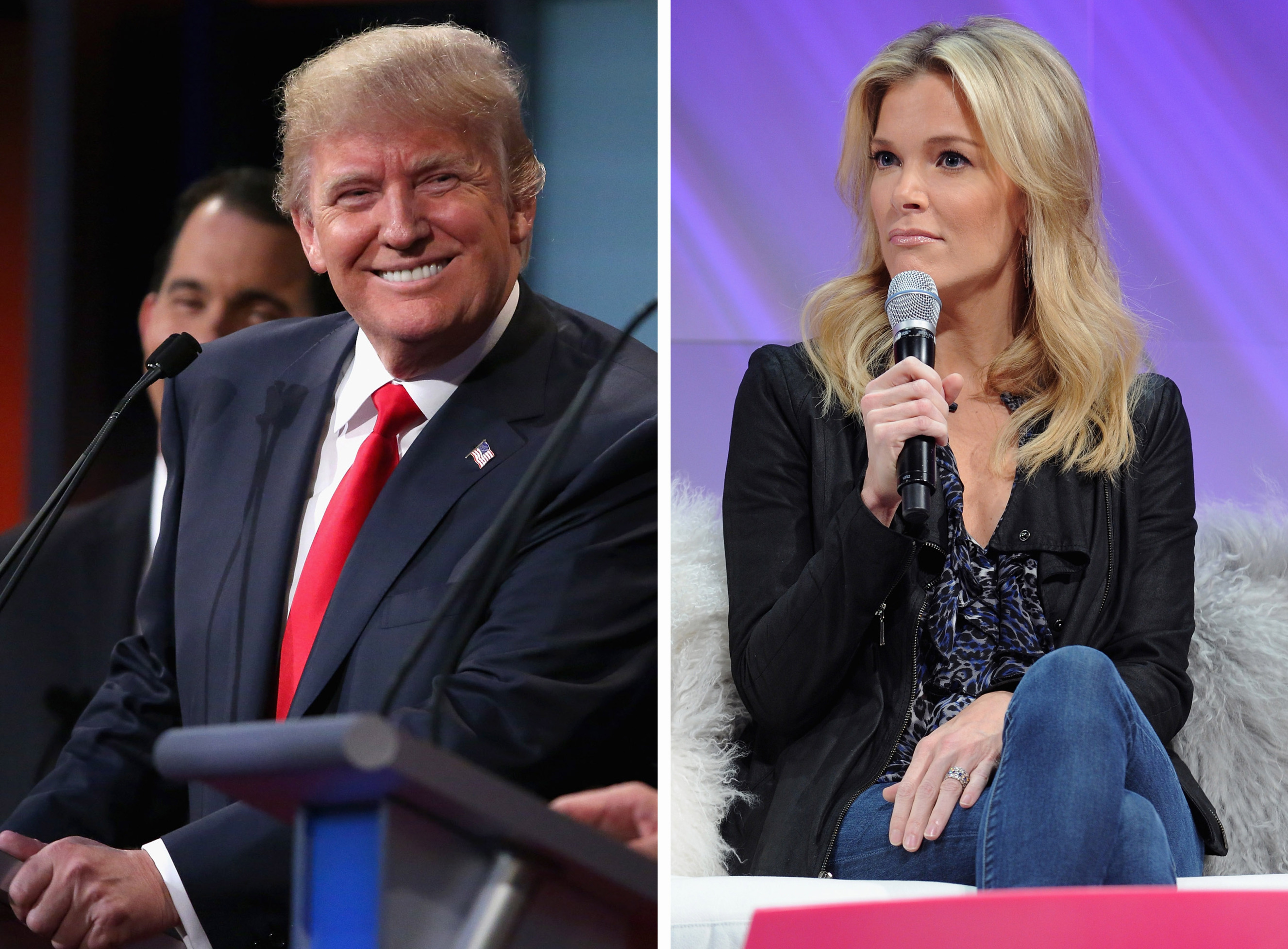 (FILE PHOTO) Donald Trump Vs Megyn Kelly