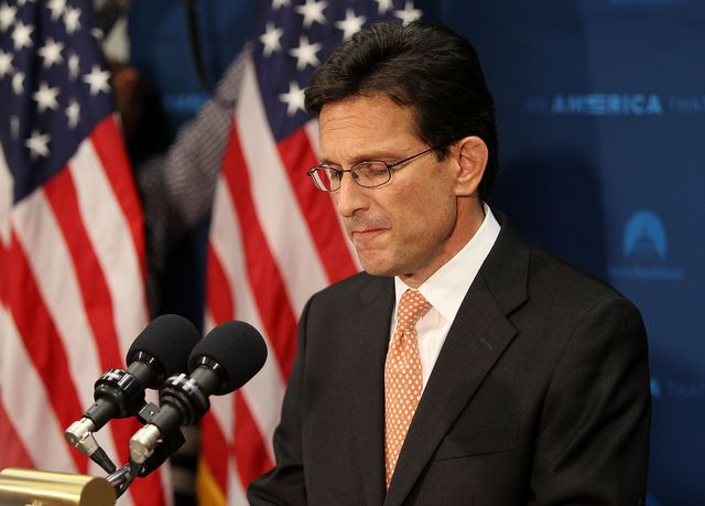Isn't there room on Virginia's ballot for Eric Cantor, independent?