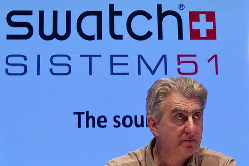 Swatch Group AG Chief Executive Officer Nick Hayek
