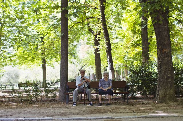 Saving for the golden years might get harder as U.S. employers cut their matching 401(k) contributions. Photographer: Angel Navarrete/Bloomberg.