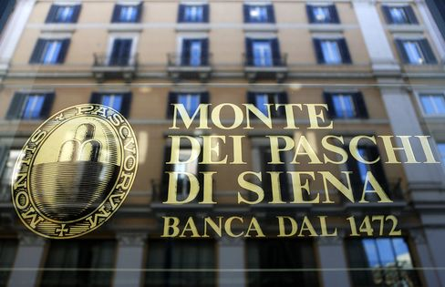 Monte Paschi Accounts Questioned in Suit Opposing State Bailout