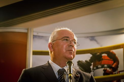 Oil Minister and President of PDVSA Rafael Ramirez