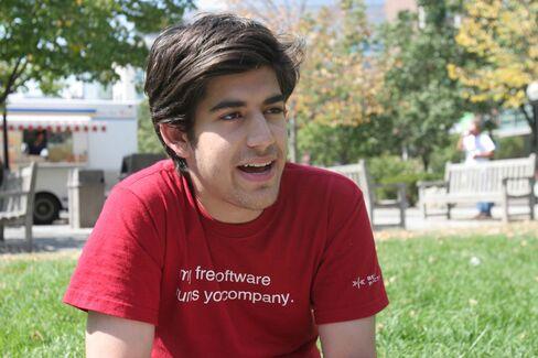 Computer Programmer & Activist Aaron Swartz