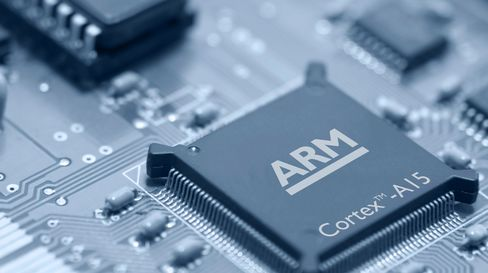 ARM Shares Drop Most Since 2008 on Valuation, Tablet Concern