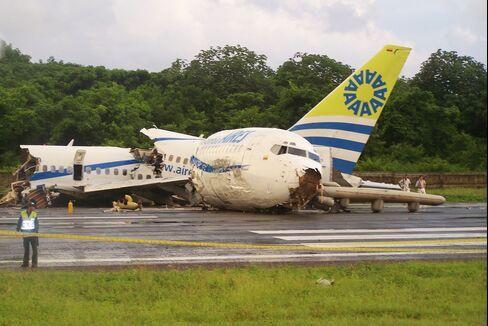 Plane Splits in Three Upon Crash Landing