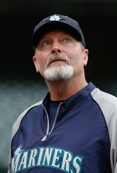 Seattle Mariners Manager Eric Wedge