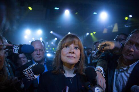 General Motors Co CEO Mary Barra