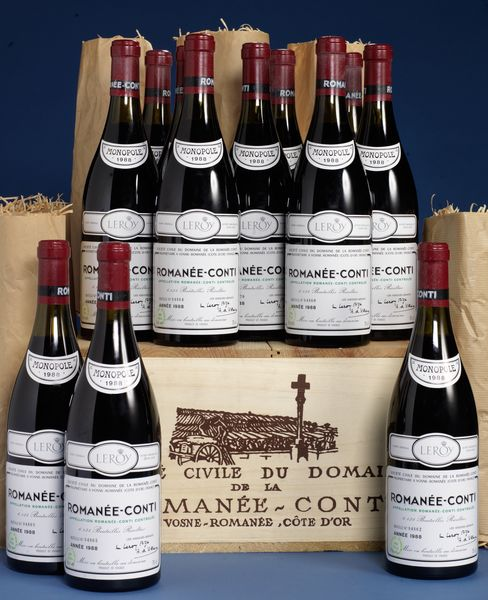 Romanee-Conti 1988 Burgundy