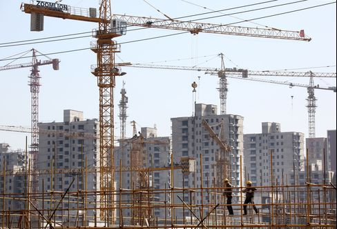China Vanke Co. Construction Site