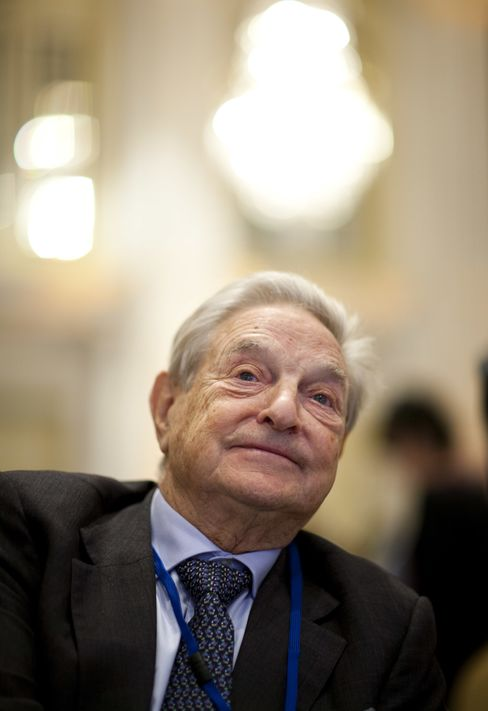 Soros Management Fund LLC Chairman George Soros